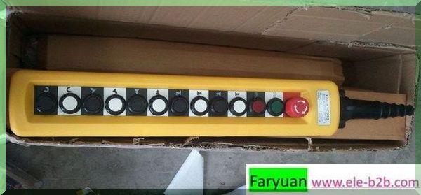 Xac a12913 pendant controllerxaca12913 hoist switchxac a12913 xac a12913 with 13 buttonsdouble speedg aloadofball Choice Image