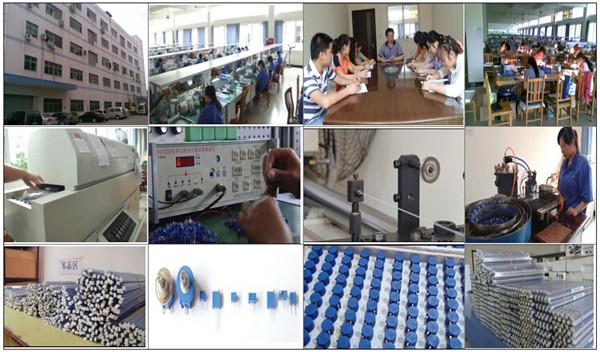 Multi-turns trimpot 3296w ceramic b10k potentiometer