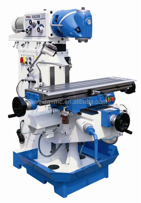 Universal swivel head milling and drilling machine xq b