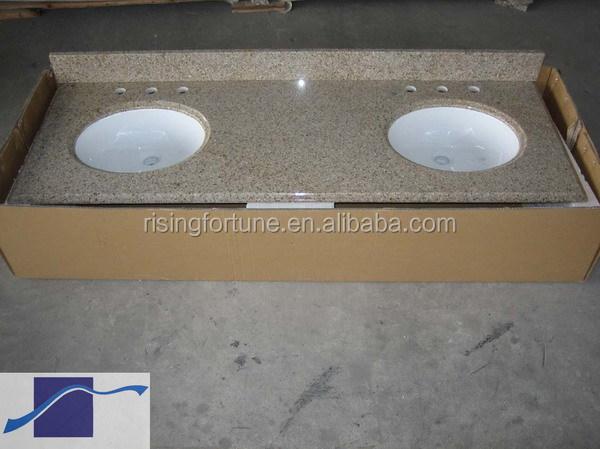 층 스탠딩 욕실 캐비닛 회색 대리석 세면대 상단-조리대, 세면대 ...