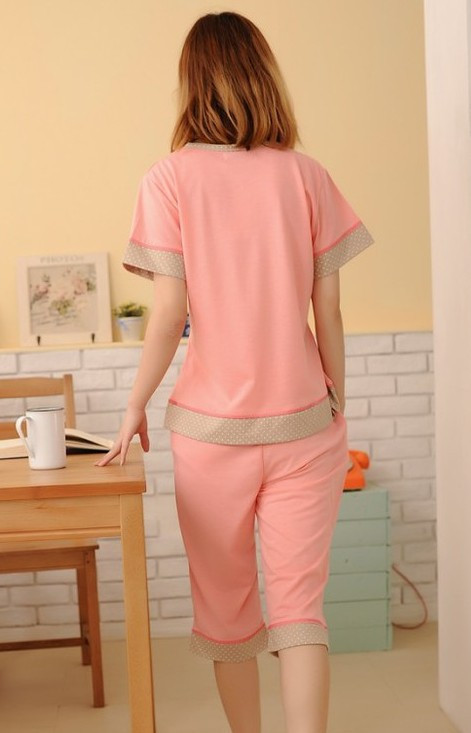 Самые низкие! новые модальных женщин одежда лето хлопок пижамы рукав короткий набор пижамы ночной рубашке