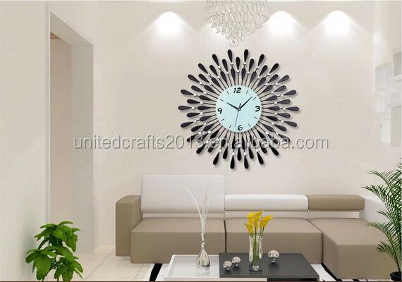 neupreis hei verkauf metal gro e dekorative wanduhr wanduhr produkt id 1888645843 german. Black Bedroom Furniture Sets. Home Design Ideas