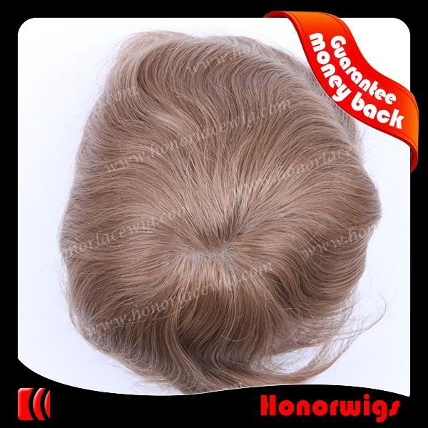 4 inches 965212 indian human hair NPU mens toupee9652 (5)