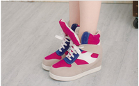 Новый противоскользящая дизайнер женские туфли европейской моды девочек кроссовки небольшие белые туфли с плоской для женщин черные туфли