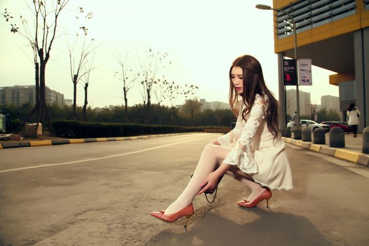 Туфли на высоком каблуке  TL_07