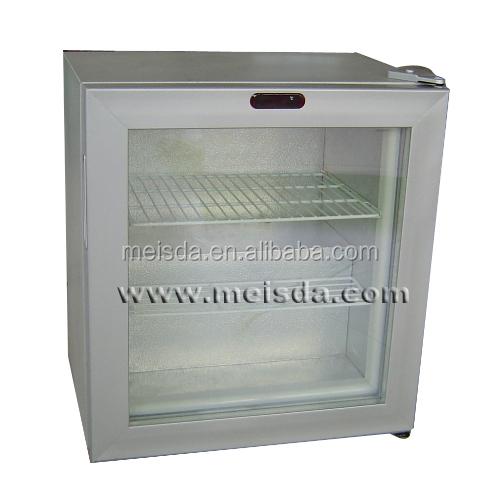 countertop display freezer, Mini Freezer Glass Door, Ice Cream Fridge ...
