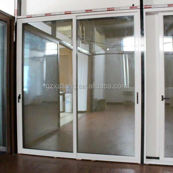glass aluminium balcony door insulation glass door