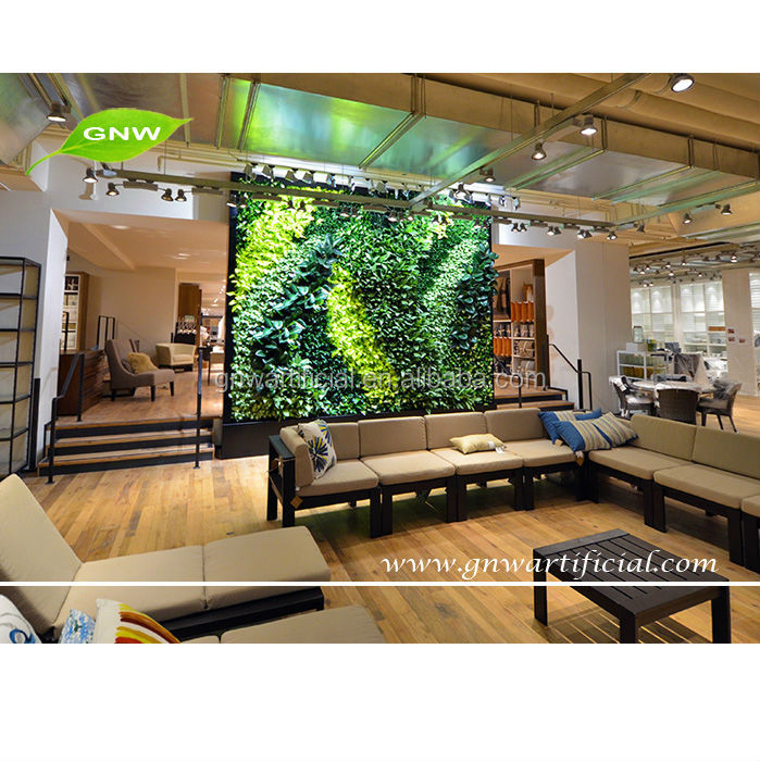 Outdoor Artificial Plants Greenwalls Sale For Restaurant Decoration Gnw Glw038 View Greenwalls