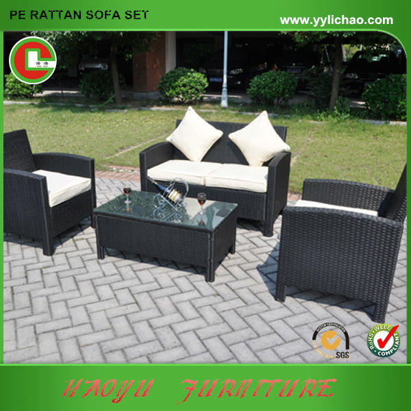 Mueble de Rattan jardín sofá bonita patio muebles de jardin ...