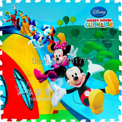 Wholesale Hot Selling Minnie Mouse Crawling Rug Foam