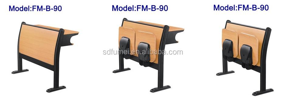 FM-B-89 Modern design school wooden classroom folding chair