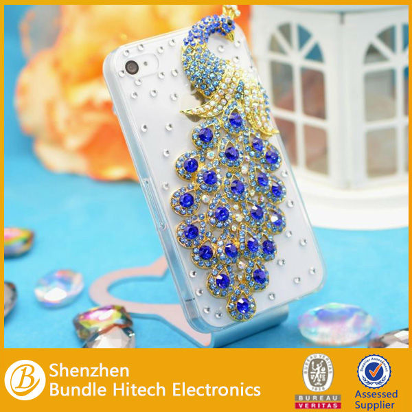 2014 wholesale fashion rhinestone phone case, for iphone case