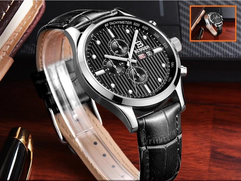 Бесплатная Доставка 10 Цветов 15 Новый Бингер Высокое Качество Движения Япония Мода Спорт Армия Часы Мужчины Наручные Часы Многофункциональный