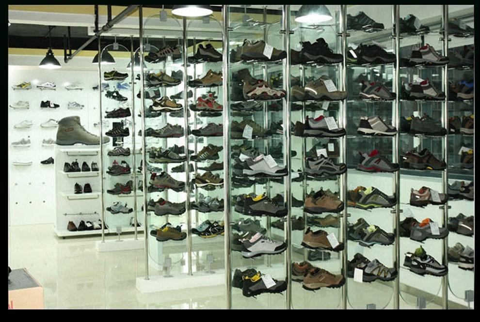 камуфляж высокая мужская обувь кожа открытый обувь скольжению износостойких Мужские Полуботинки
