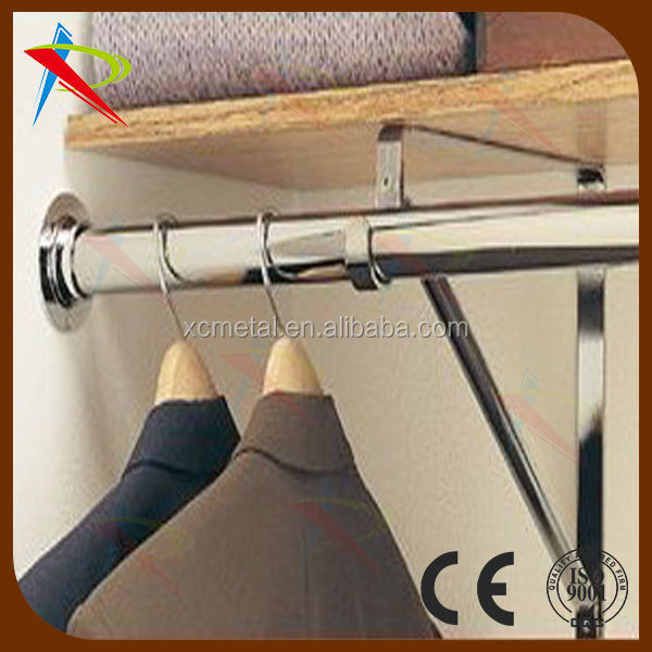 Custom Size Chrome Hanging Closet Rod   Buy Chrome Steel Rod,Custom ...