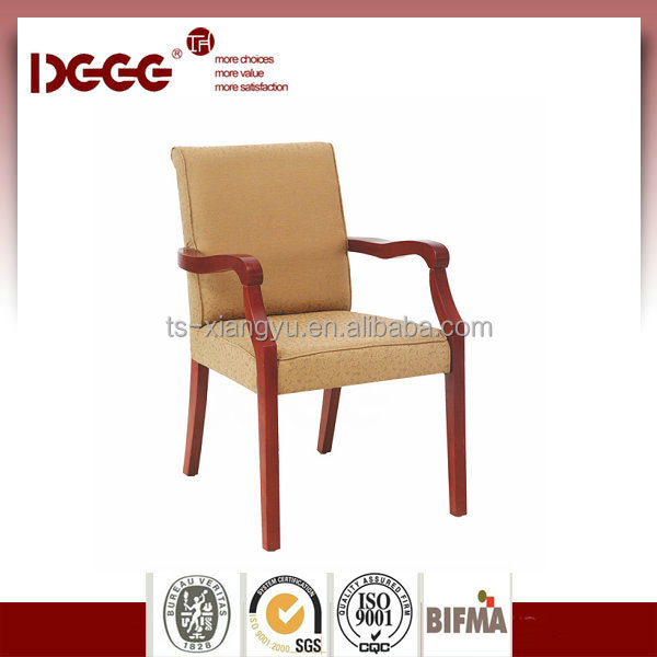 DG-W0055 Antique Solid Curved Wooden Arm Chair