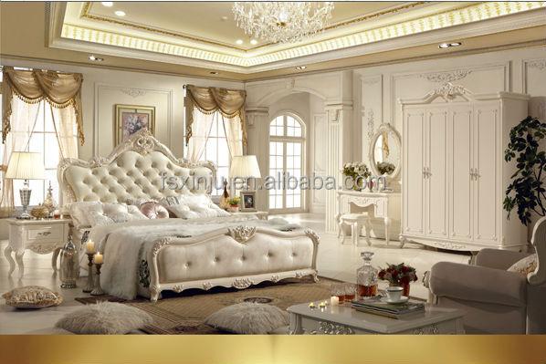 Dubai wooden home furniture / luxury and elegant wood bedroom ...