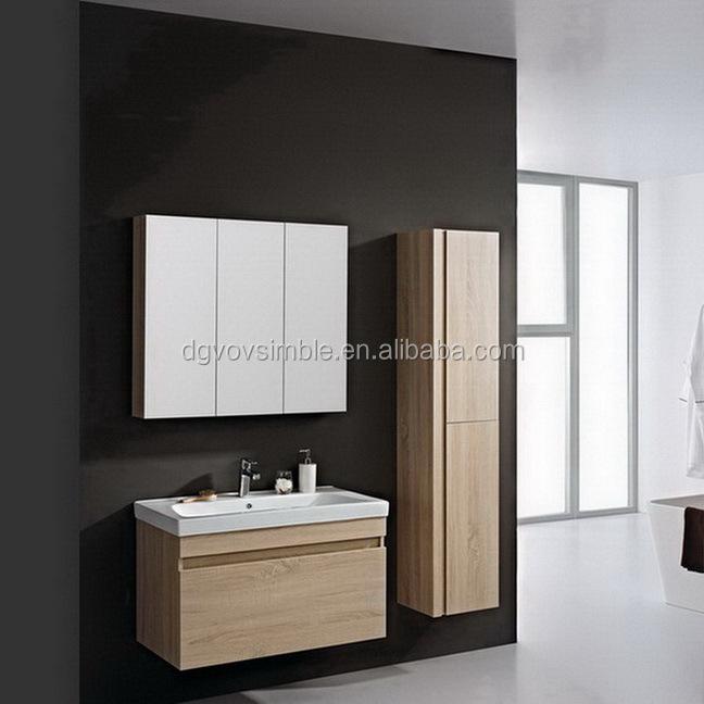 Hot vente mode haut de gamme contreplaqu meubles salle de for Vente direct usine meuble salle de bain
