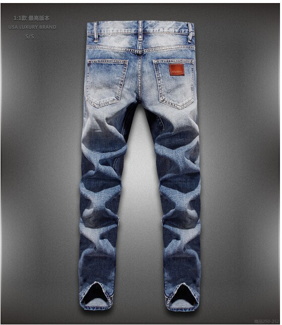 Free shipping New brand men Fashion jeans high quality cotton jeans ultra-thin mens jeans 28-36