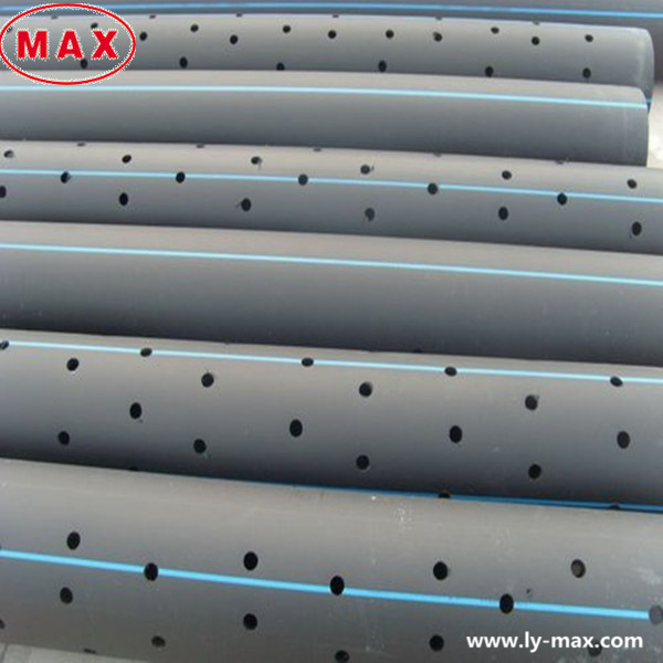 plastic large diameter pe100 hdpe perforated drainage pipe buy hdpe perforated drainage pipe. Black Bedroom Furniture Sets. Home Design Ideas