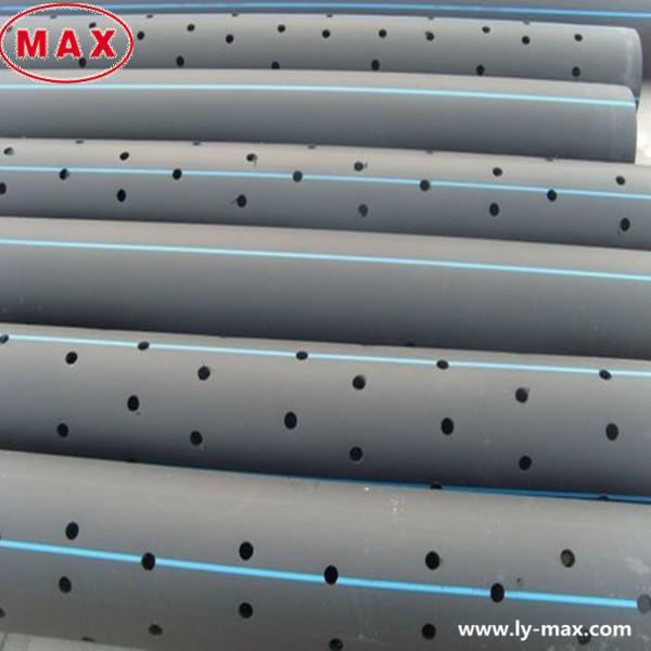 plastic large diameter pe100 hdpe perforated drainage pipe. Black Bedroom Furniture Sets. Home Design Ideas