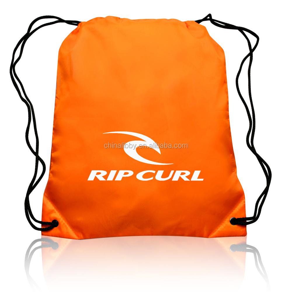 Factory Price polyester bag, nylon polyester drawstring bag, http://www.longruntextile.com