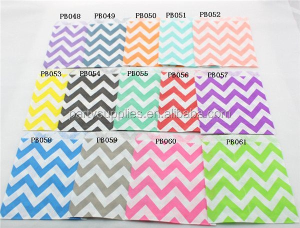 Chevron Party Favor Bags 005