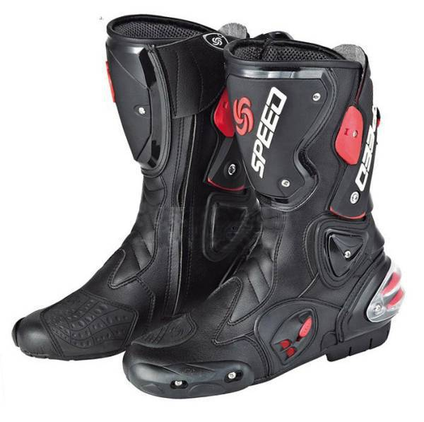 Free shipping motorcycle boots SPEED B1001 BIKERS Racing Boots,Motocross Boots,Motorbike boots SIZE: 40/41/42/43/44/45