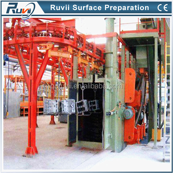 Hanging versatile shot blasting machine RV58