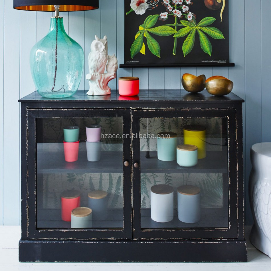 Glass front buffet cabinet images for Sideboard glasfront