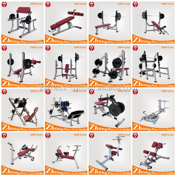 Gym Gym Equipment Names