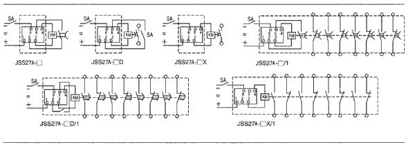 JSS27A серии Цифровое реле