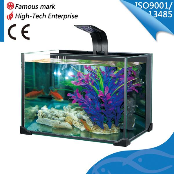 Neuheit künstlichen fisch aquarium mit wasserpumpe led