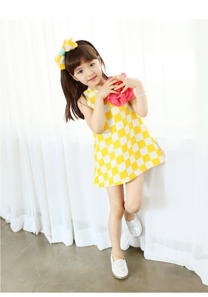 Cute Baby Yellow Dress 2014 Baby Girl Cute Dress