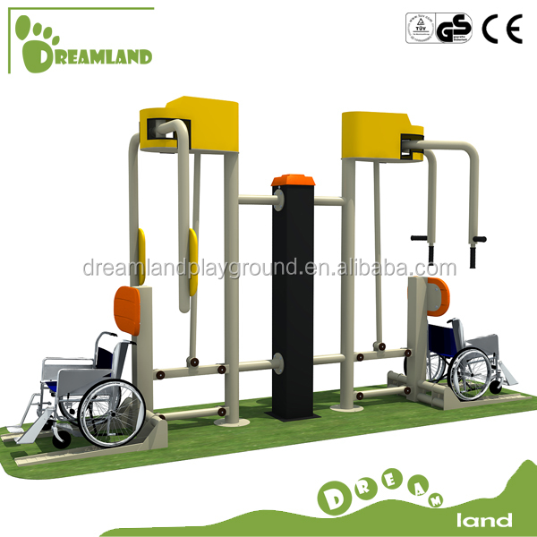 Pessoas com deficiência de Fitness equipamentos de ginástica ao ar livre para jardim ou quintal