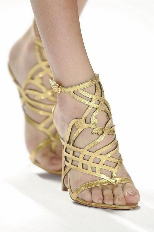Beautiful Flat Sandals For Women Summer Footwear Designs 2015