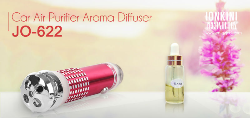 Hot selling alibaba express Aroma Car Air Purifier JO-622