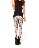 Женские носки и Колготки Spring Women Digital Printed Pants Black Milk Woah Dude HWMF Leggings Brand Clothes For Women -K301