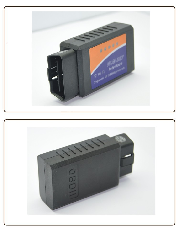 Электрический тестер Wi-Fi wifi ELM 327 ELM327 OBD 2 II Car Diagnostic Interface Scanner dropshipping
