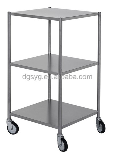 Gauge All Stainless Steel Commercial Work Table X With - Stainless steel work table with casters