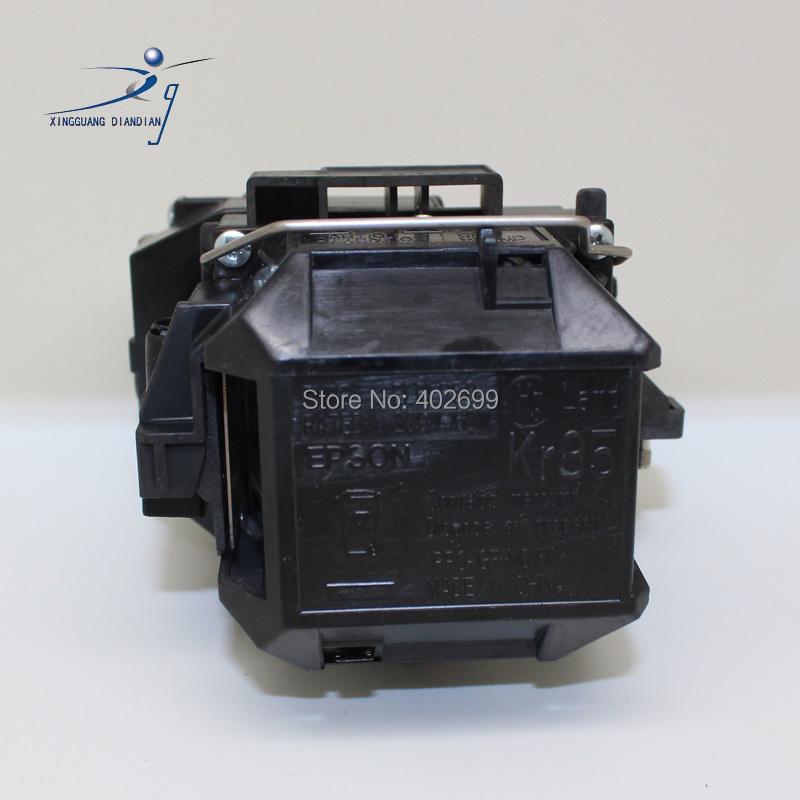 ถูก หลอดไฟโคมไฟโปรเจคเตอร์ELPLP58สำหรับEpson EB-S9 EB-S92 EB-W10 EB-W9 EB-X10 EB-X9 EB-X92 EB-S10 EX3200 EX5200 EX7200