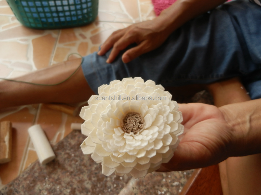 Handmade Natural Wholesale Dried Sola Flowers View Wholesale Dried