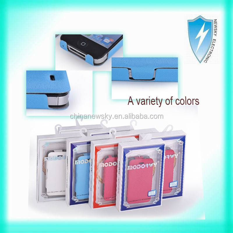 self-developed and producted leather case for iphone 4G,5G/5S, 5C