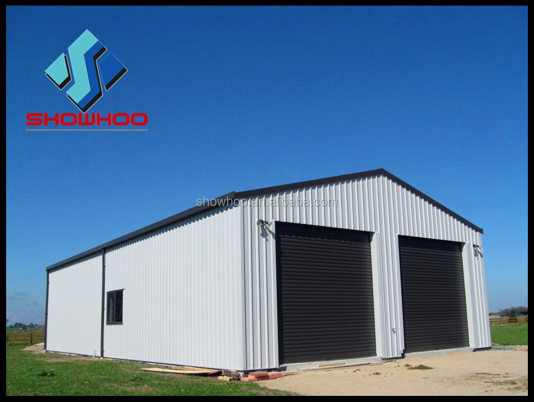 Cost effective steel structure metal building for Garage building cost