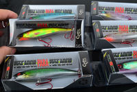 Приманка для рыбалки-selling, 6 colors Fishing bait 11CM/13.4G Proberos style laser Minnow fishing lures, 6pcs/lot fishing tackle