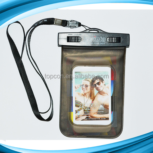 IPX8 universal waterproof bag for iphone
