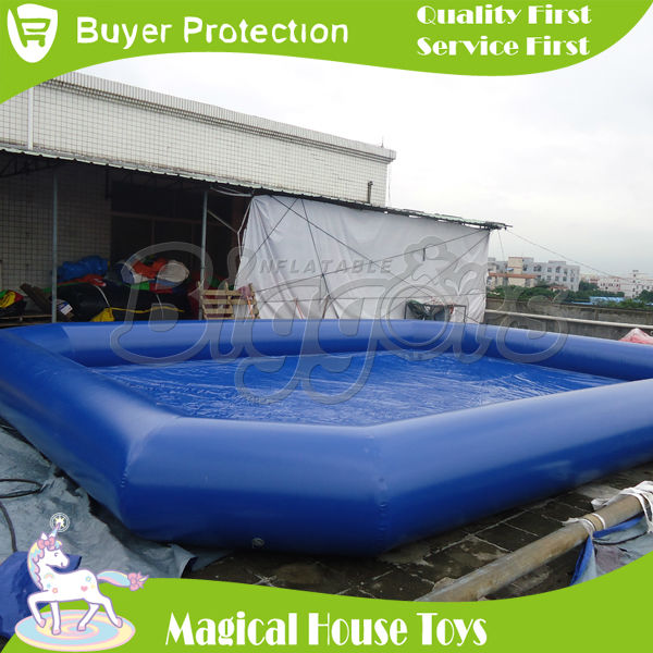 Commercial above ground pool large inflatable swimming for Inflatable above ground pools