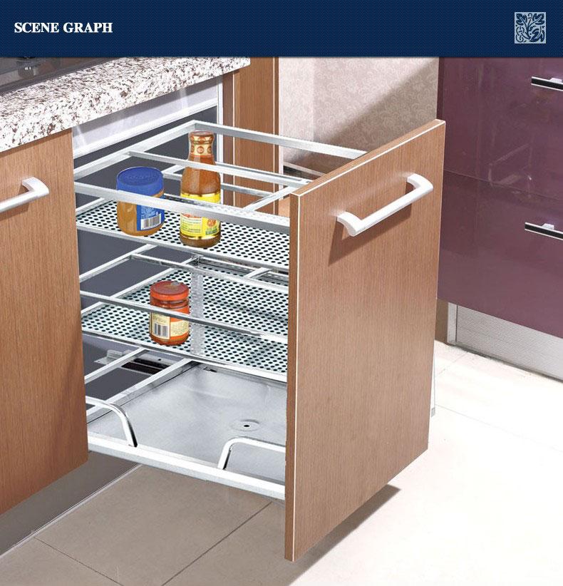 Modern Stainless Steel Kitchen Drawer Basket 201 - Buy Kitchen ...