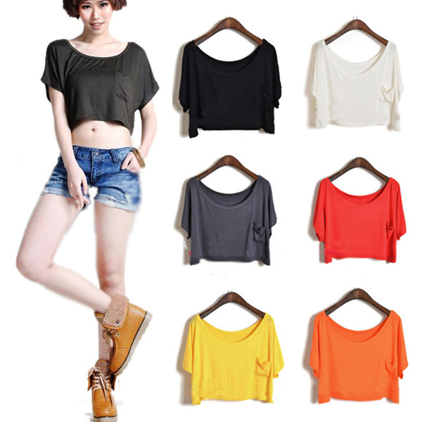 wholesale sexy women crop top lady t shirts buy crop