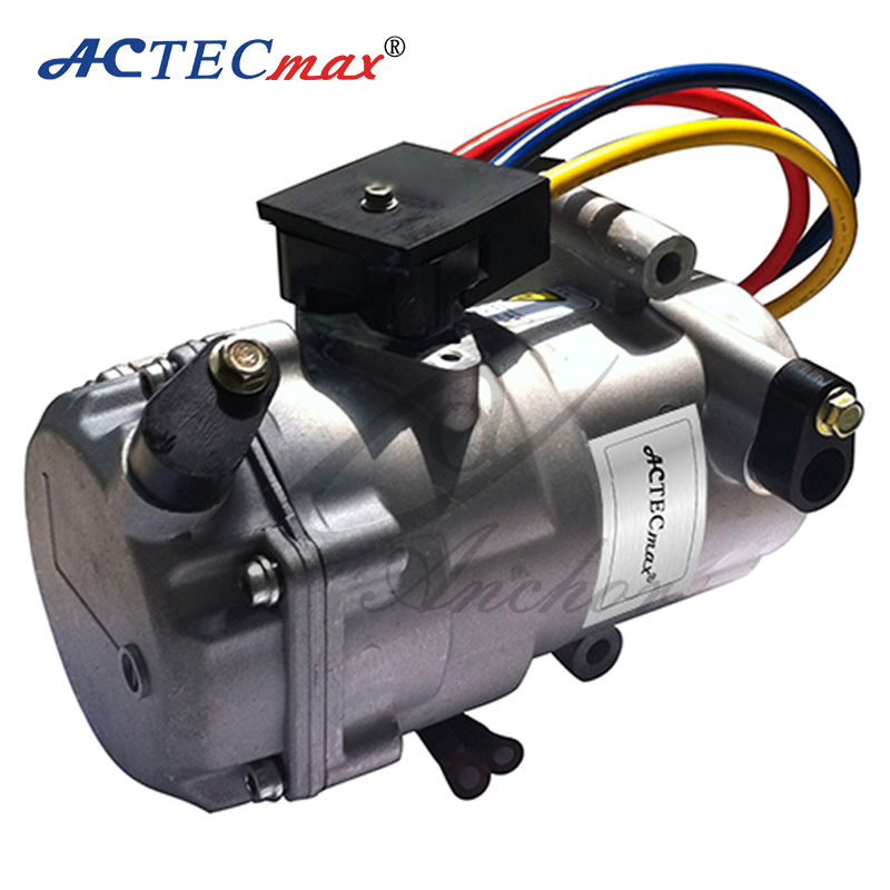 Electric car ac compressor universal 12v dc automotive air Electric ac motors